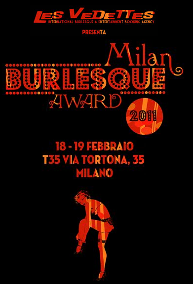 Milan Burlesque Award