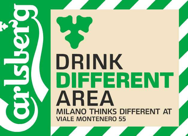 Carlsberg Drink Different Area Milano