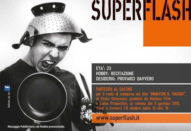 Superflash - Casting Immaturi