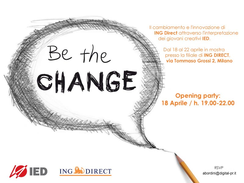 Be the Change - ING Direct